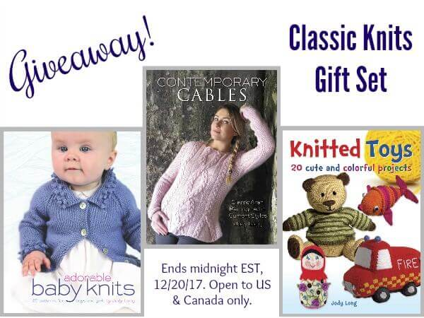 Classic Knits Gift Set - Giveaway! Giveaway ends December 20, 2017.