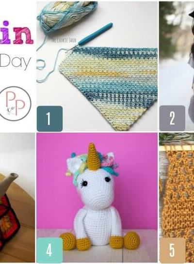 Hookin' on Hump Day #164: Link Party for the Fiber Arts