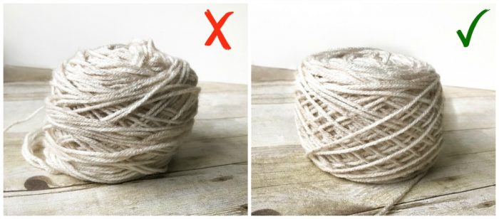 How to Fix Your Yarn Ball Winder - No More Crooked Yarn Cakes | www.petalstopicots.com