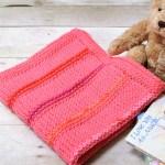 Tunisian Crochet Blanket Pattern … Customize to Any Size!