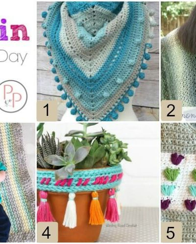 Hookin' on Hump Day #172: Link Party for the Fiber Arts