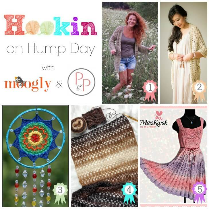 Hookin' on Hump Day #173: Link Party for the Fiber Arts