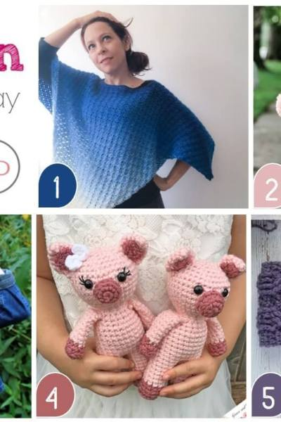 Hookin' on Hump Day #176: Link Party for Crochet and Knitting