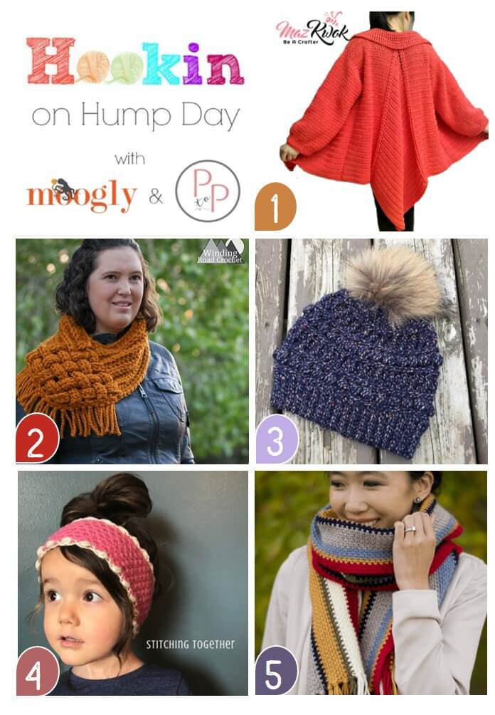 See what's trending right now for crochet and knit at this week's latest Hookin' on Hump Day!