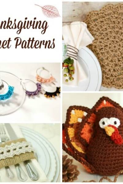 Thanksgiving Crochet Patterns for Your Home, Your Table, or Your Hosts