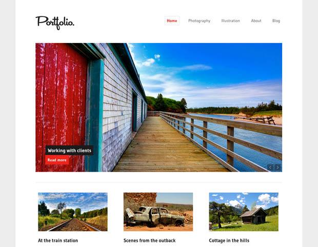 WordPress Makes it Easier for Photogs to Build Sleek and Stylish Portfolios wordpressportfolio 4