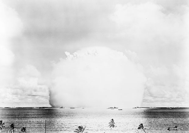 Photos from the Worlds First Underwater Nuclear Explosion crossroadsbaker 1