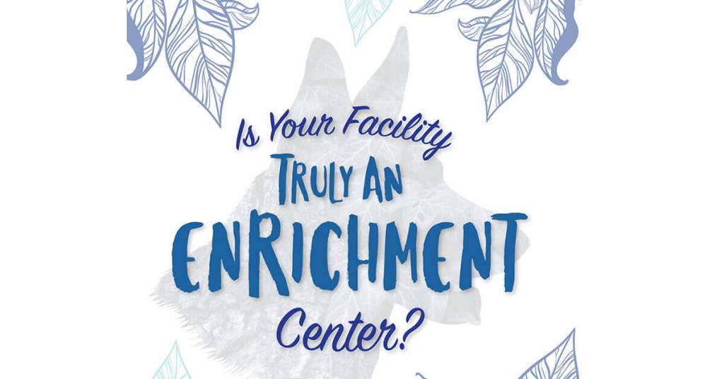 Is Your Facility Truly An Enrichment Center?