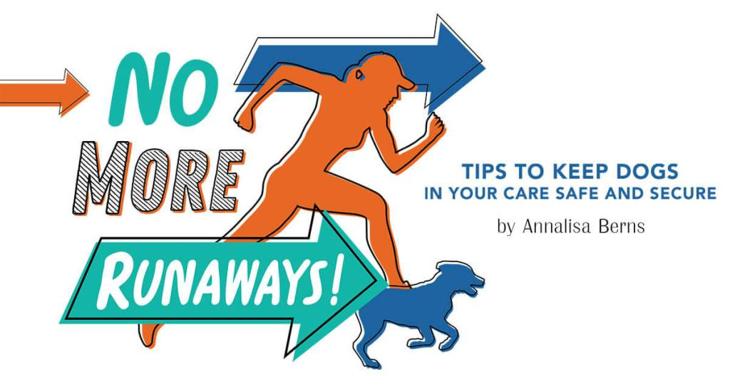 No More Runaways! Tips to Keep Dogs in Your Care Safe and Secure