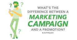What's the Difference Between a Marketing Campaign and a Promotion?