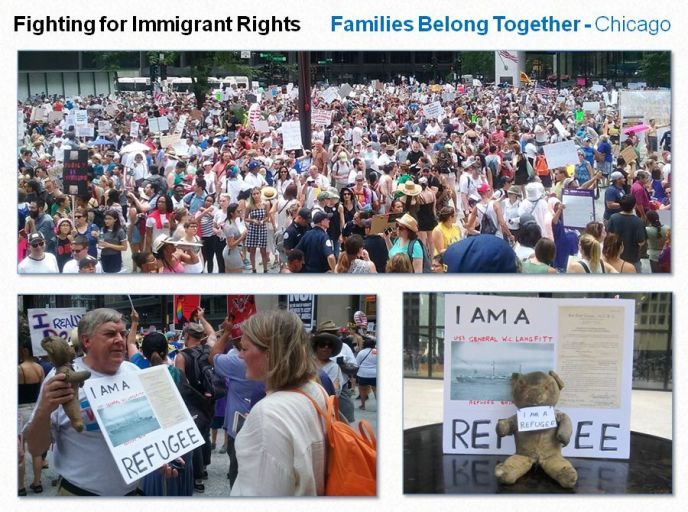 Peter Janko fights for Immigrant Rights 1