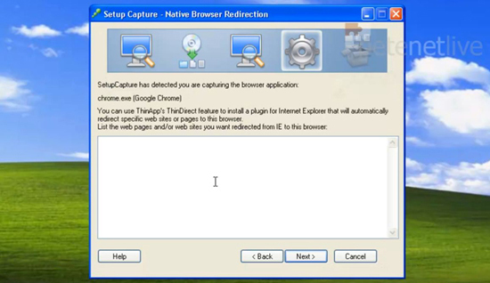 ThinApp Browser Redirection