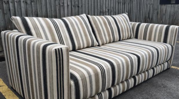 Striped Sofa Brokeasshome Com