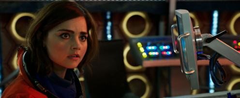Screen shot from Doctor Who S9 Trailer released 9th July 2015 - (C) BBC