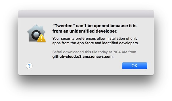 How to open a Mac app from an unidentified developer - Peter