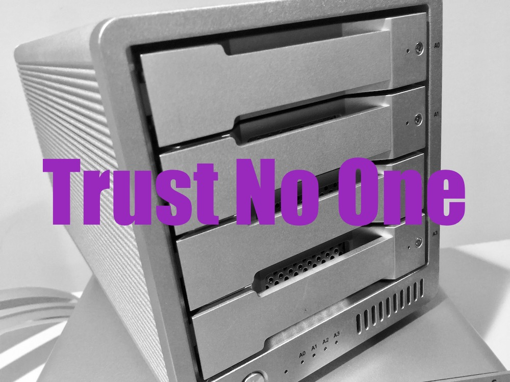 CrashPlan and Burn: Trust No One - Peter Cohen