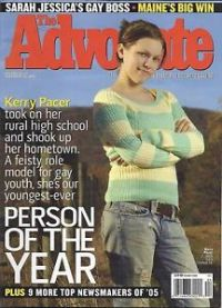 Kerry Pacer - Advocate Cover