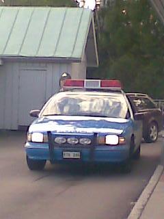 En äkta NYPD som jag fotade i Skellefteå för flera år sedan.