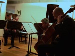 David Gorton with Mihailo Trandafilovski, Morgan Goff, and Neil Heyde. RAM. November 12th 2010