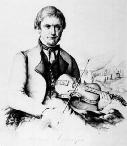 Targjei Augundsson (1801 – November 21, 1872)-'Myllarguten'