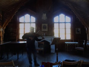 Inspiration. The Music Room at Valestrand. The music rooms which Bull designed, are acoustic wonders- both akin to playing inside a violin. 30 09 13