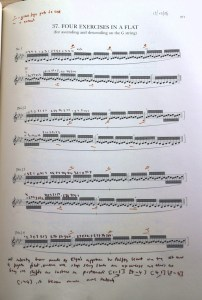 Elgar shifting exercises, from 1877-8
