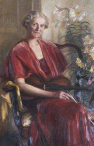 Lady Diana Massingberd, (1943) byt Richard Ziegler