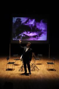 Talking about Mazur and Hersc. Palladium  Theatre, 19th November