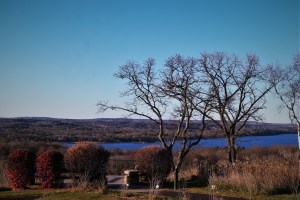 Back to the St Croix. Looking east over the river, 11 11 16