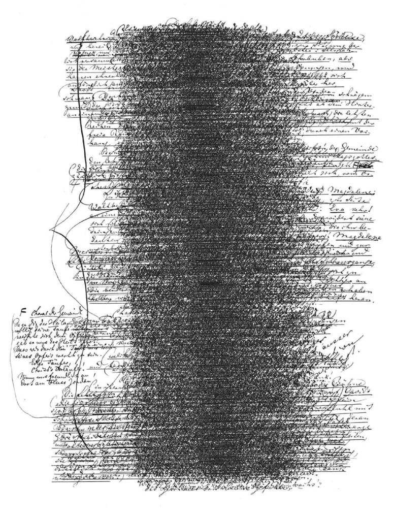 Image 09</br>Phonographie nach dem Libretto von / Phonographic study based on the libretto by Richard Wagner ('Die Meistersinger von Nürnberg', 1. Aufzug)