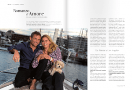 Peter Arpesella Annie Wood: A Love Story. Interview - In Magazine.