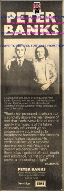 Two Sides of Peter Banks ad