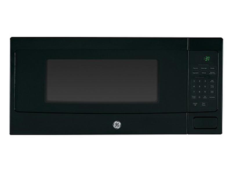 24 ge profile 1 1 cu ft spacemaker microwave oven pem10bfc