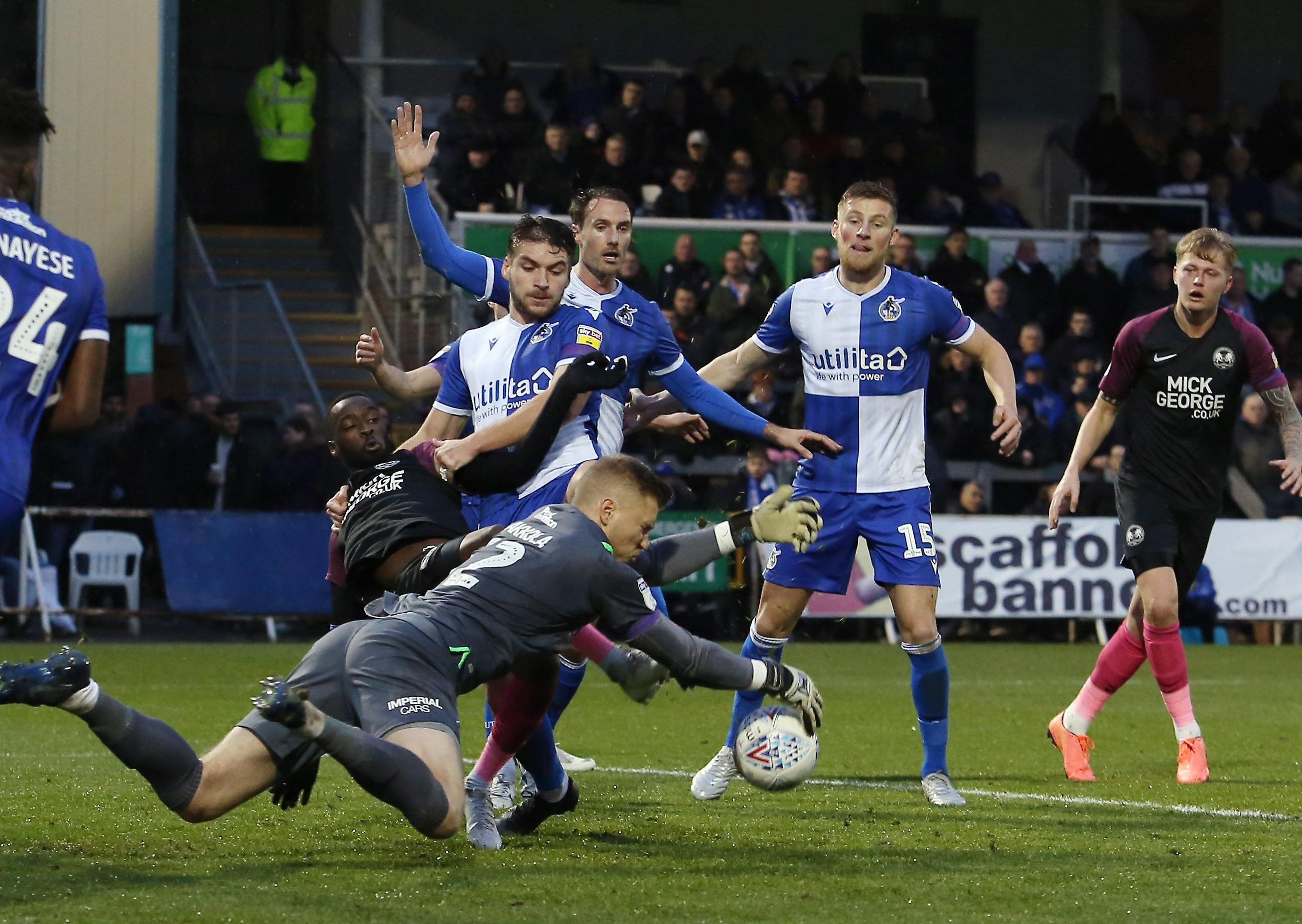 Peterborough United Manager Not Overly Happy Despite His