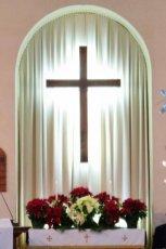 pumc altar - christmas