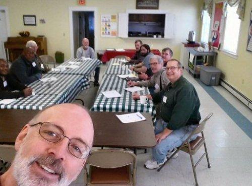 Men's Group Selfie
