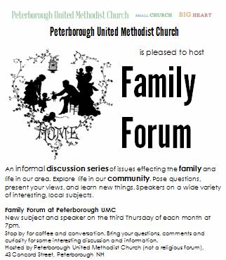 Family Forum Poster