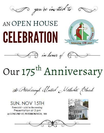Anniversary Celebration Open House