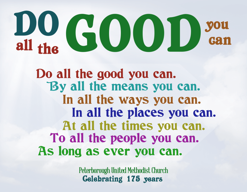 Do Good postcard