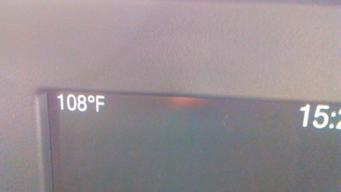 Not too hot?