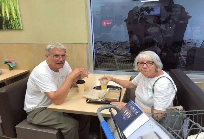 Popop and Grammy Linda