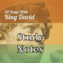 Bible Study: 30 Days With King David - Session 1