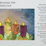 2020 PUMC Advent Calendar - Day 1 - November 29, 2020