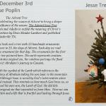 2020 PUMC Advent Calendar - Day 5 - December 3, 2020