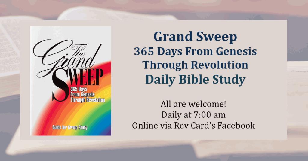Grand Sweep Bible Study