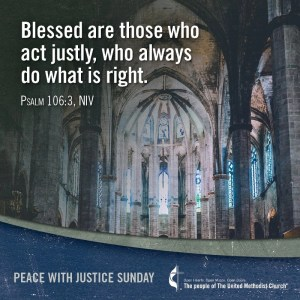 Blessed are those who act justly, who always do what is right.Psalm 106:3 NIV