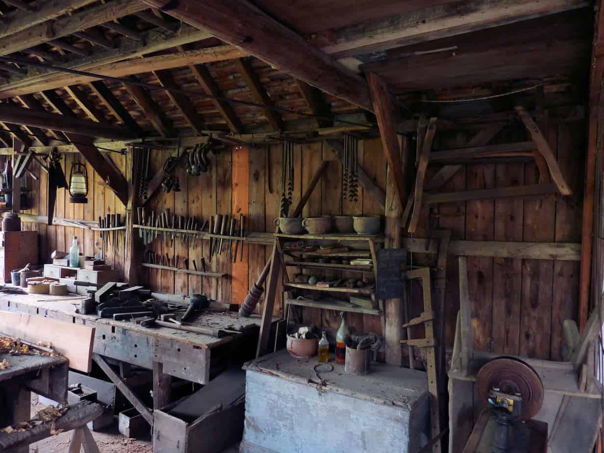 Image of old workshop