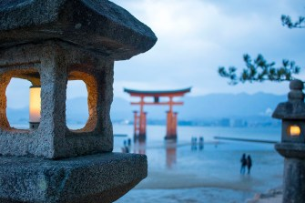 Dusk at Miyajima