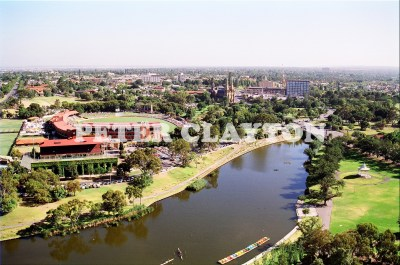 AUSTRALIA - ADELAIDE - LOOKING NORTH OVER TORRENS c1992 R4