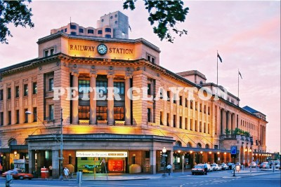 AUSTRALIA - ADELAIDE - RAILWAY STATION R4
